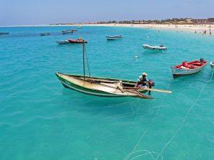 Pecheur du Cap vert - Santa Maria - Ile de Sal
