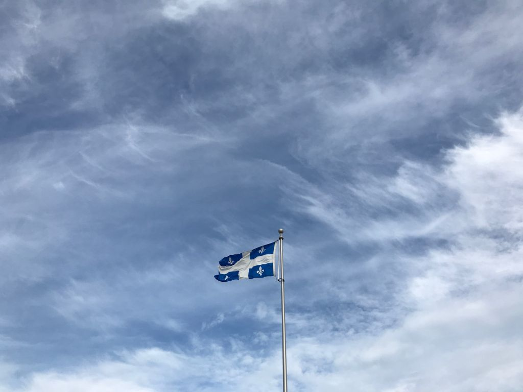 Frapeau du Québec