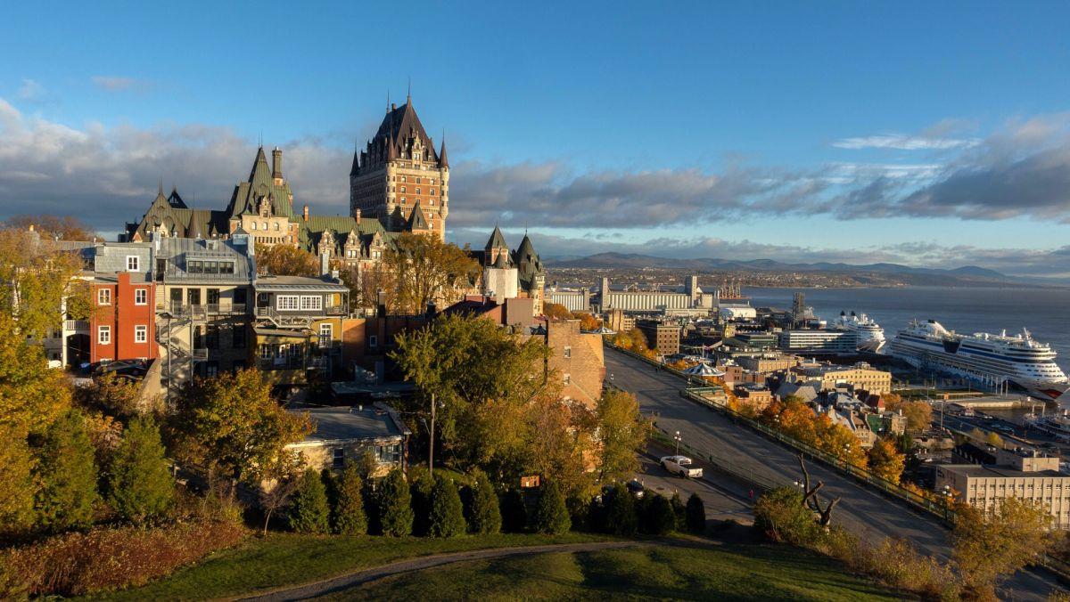 La ville de Québec au Canada