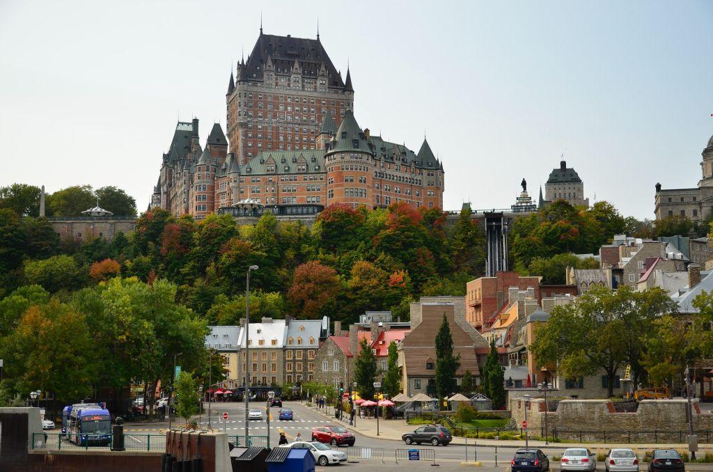 château Front - Québec