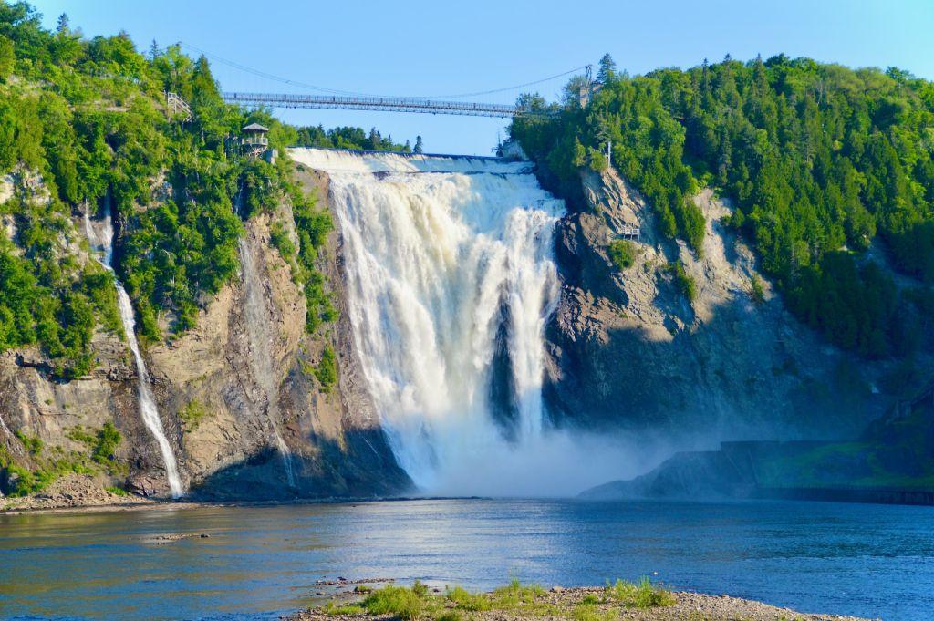 La chute Montmorency - Québec